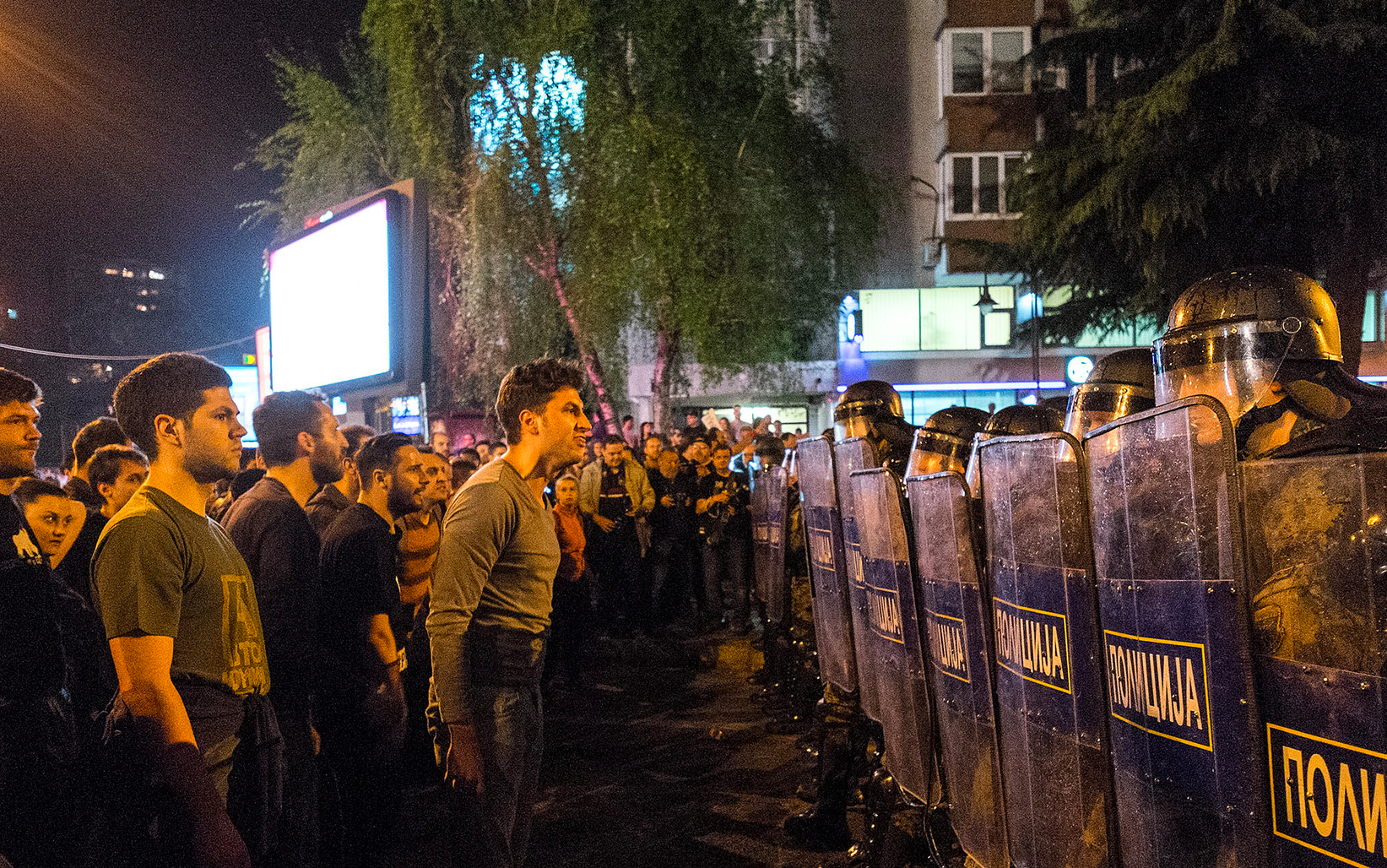 Protests erupt in Macedonia after wiretapping probe is torpedoed