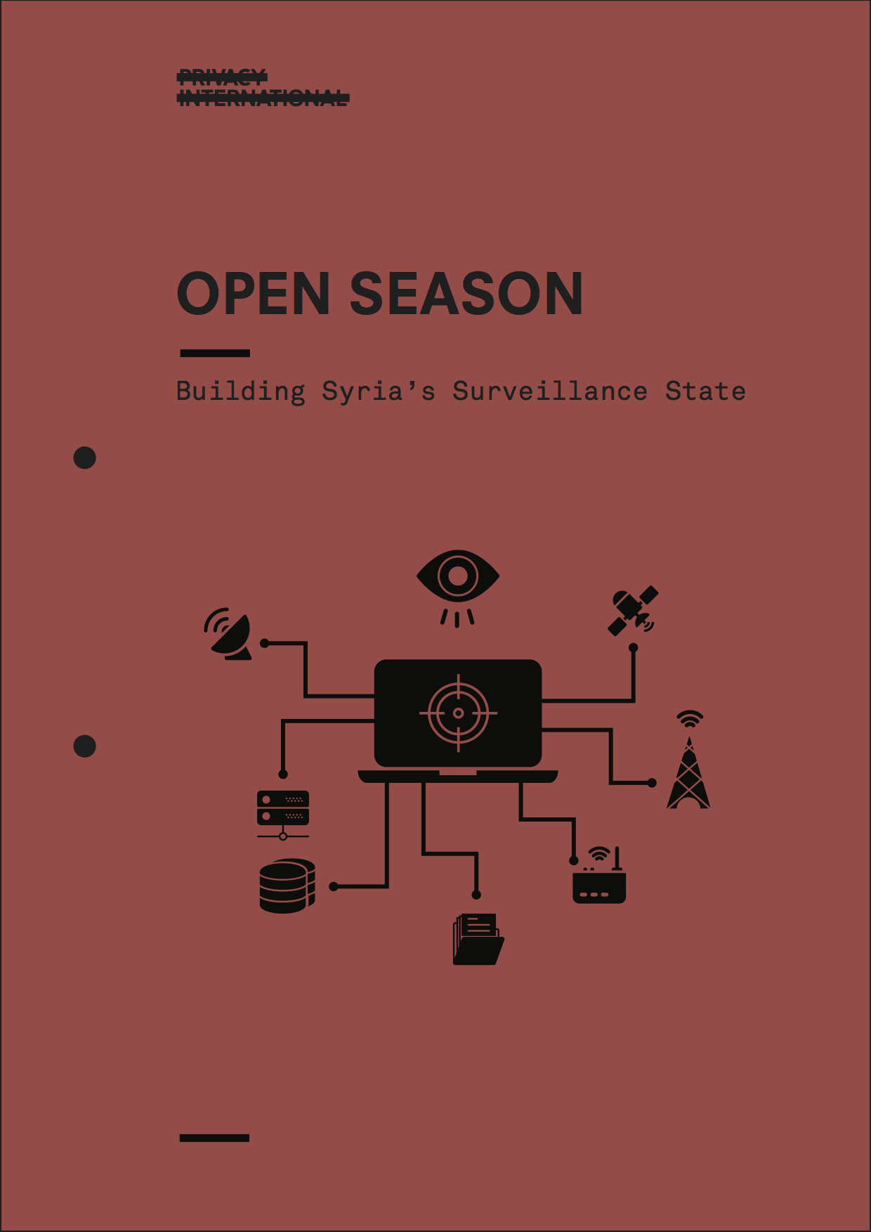 Syria Open Season report cover