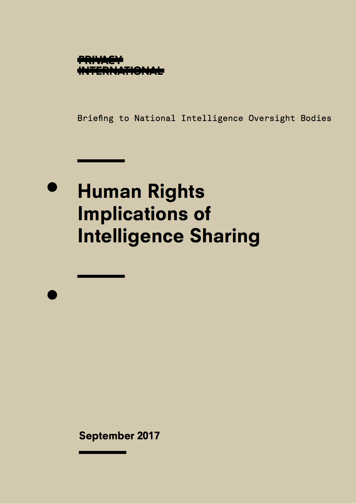 Privacy International Launches International Campaign For Greater Transparency Around Secretive Intelligence Sharing Activities Between Governments