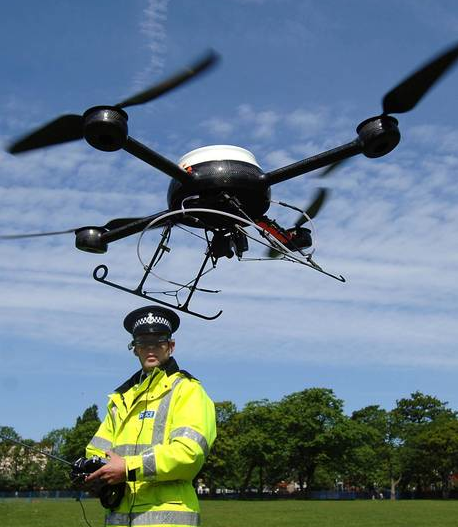 Police drones in the UK? Watch this airspace…