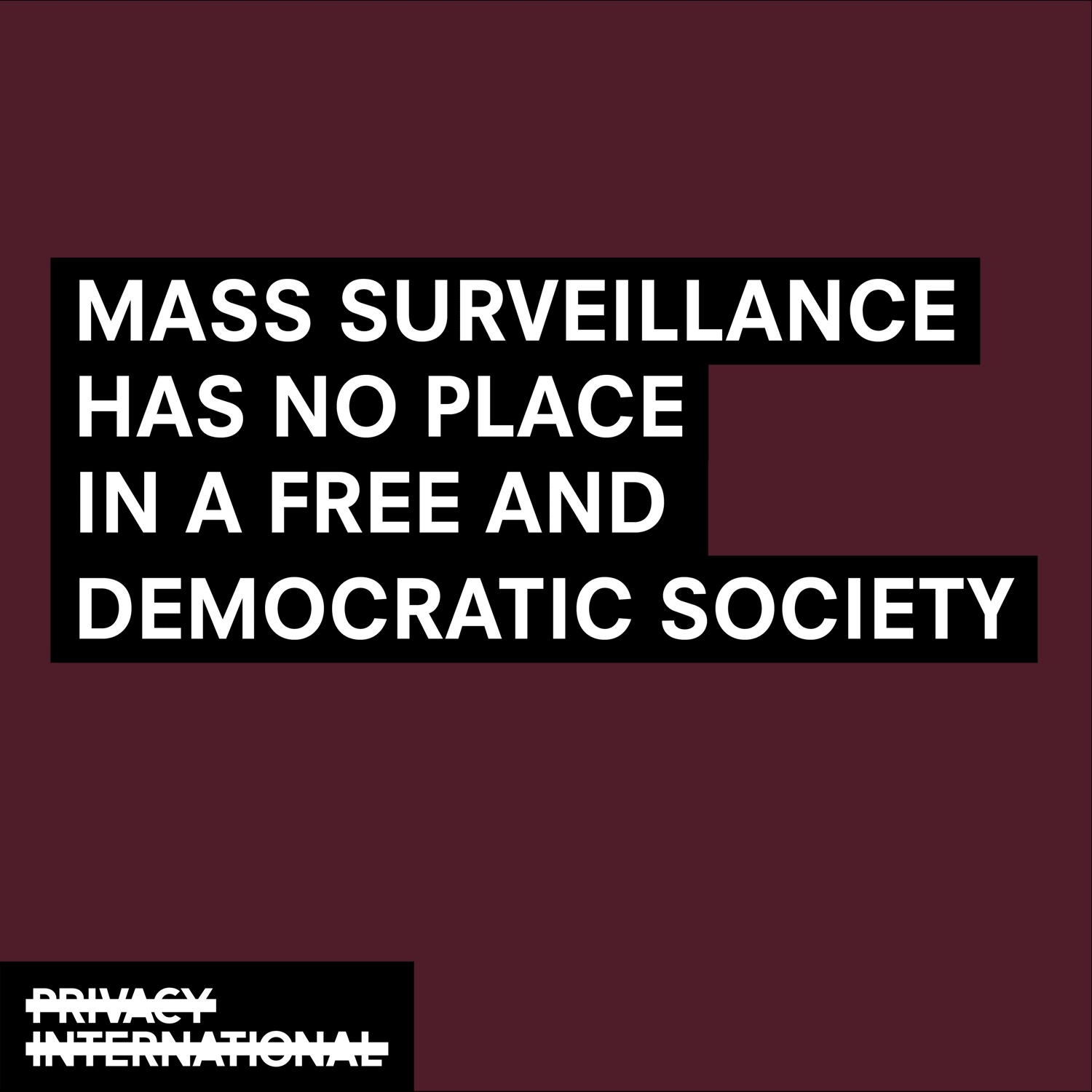 mass surveillance text