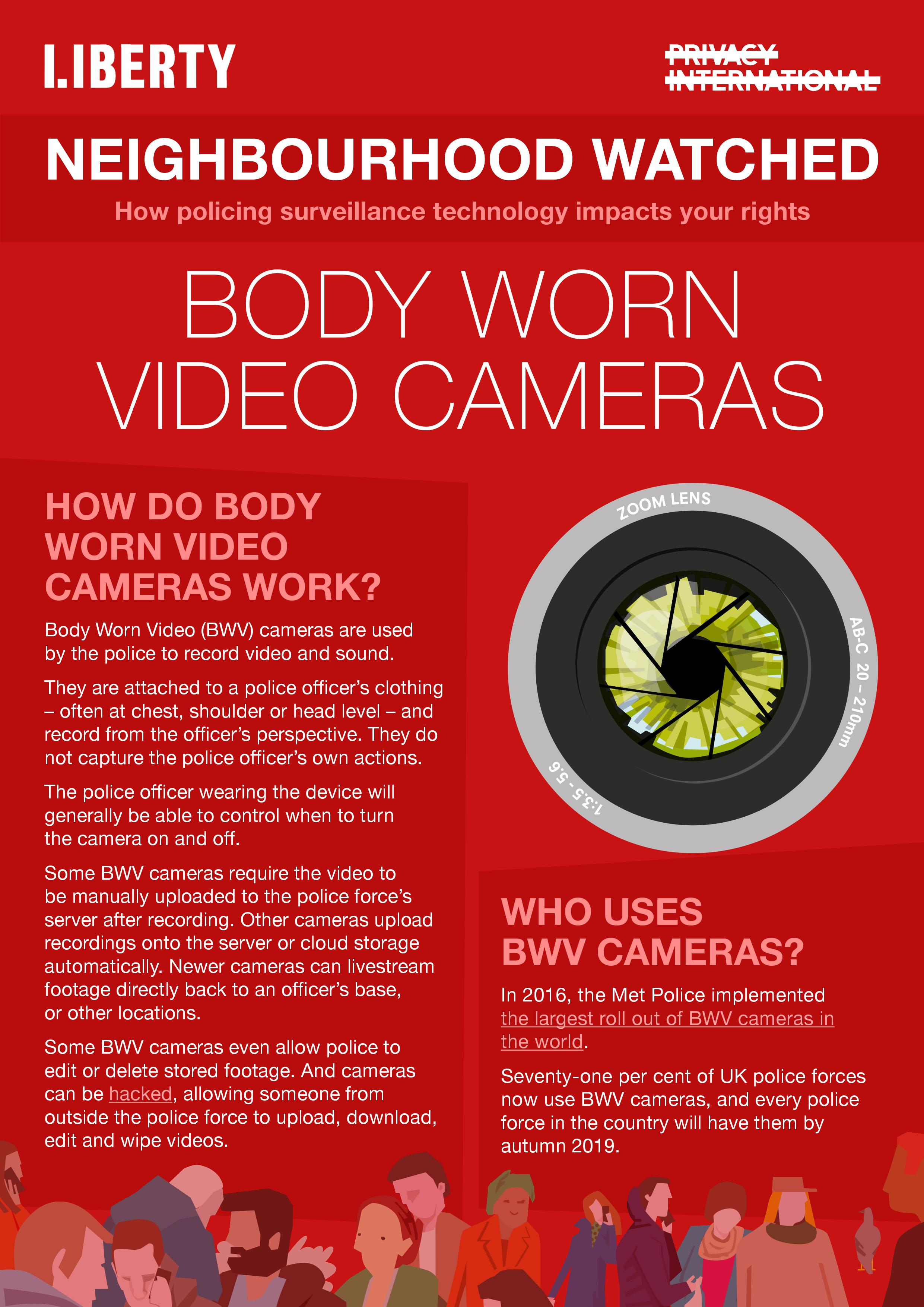 body worn video cameras explainer
