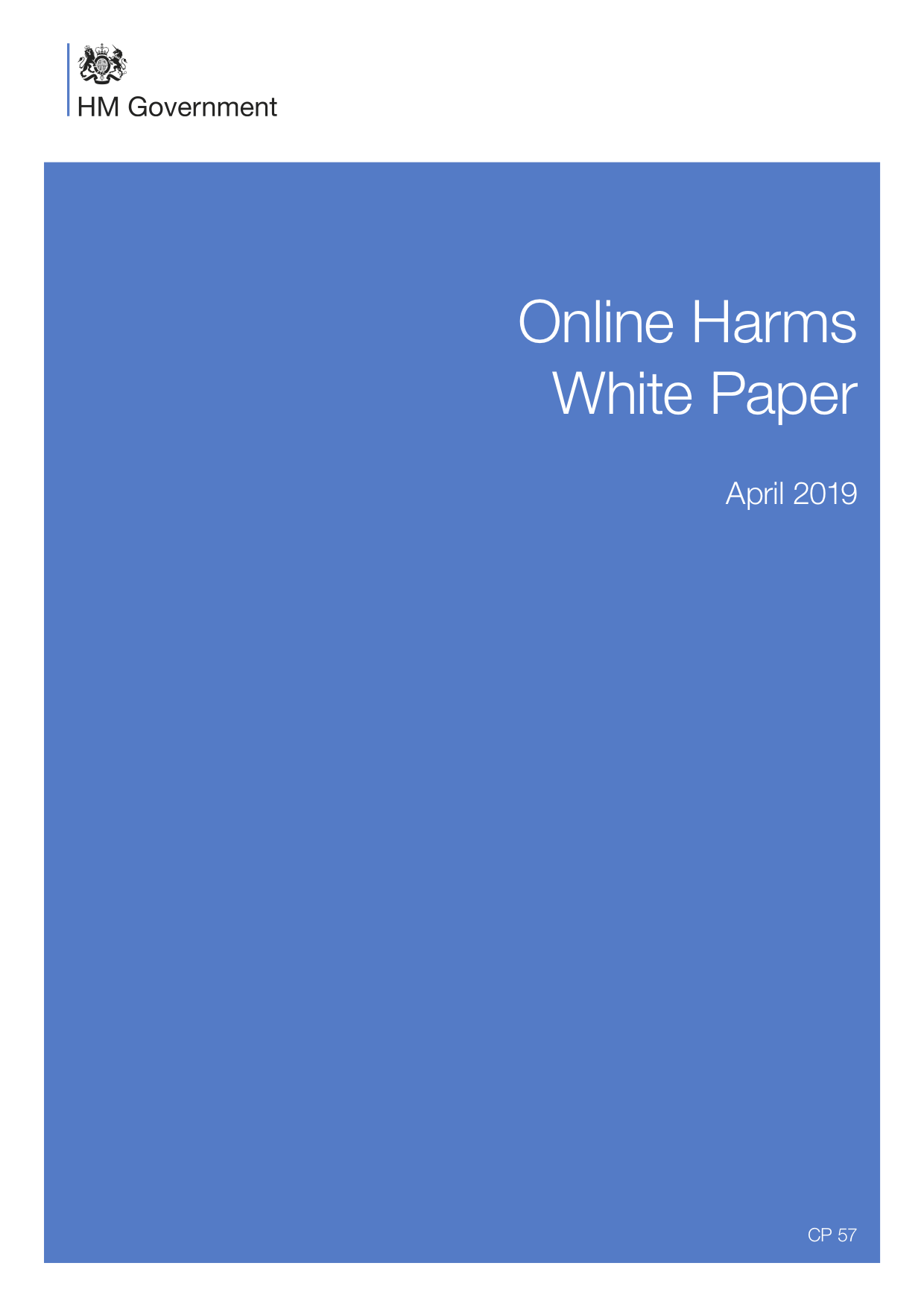 "PI's take on the UK government's new proposal to tackle ""online harms"""