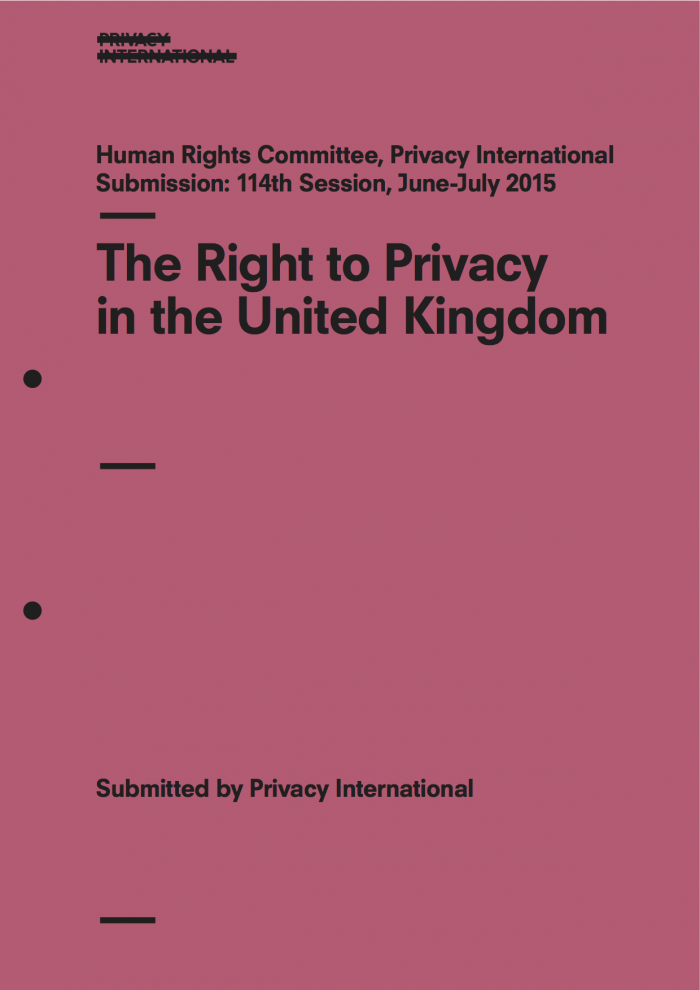 The Right to Privacy in the United Kingdom