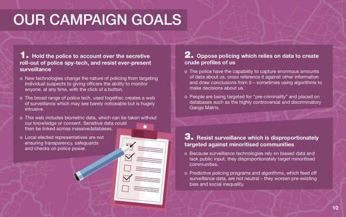 our campaign goals