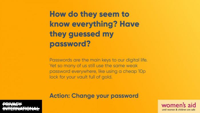 How do they seem to know everything? Have they guessed my password?
