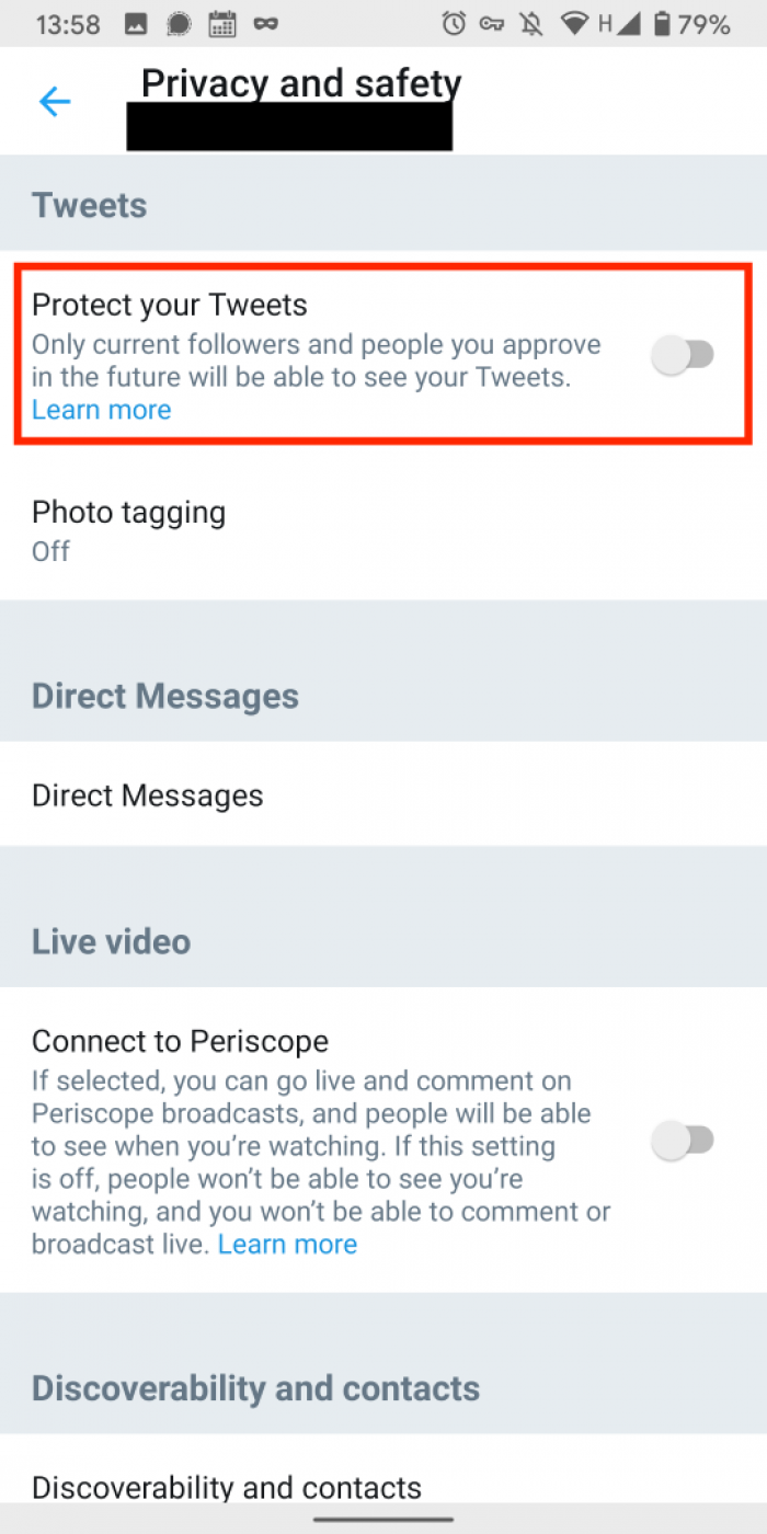 Twitter   Post settings   Privacy International