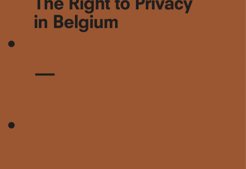 The Right to Privacy in Belgium