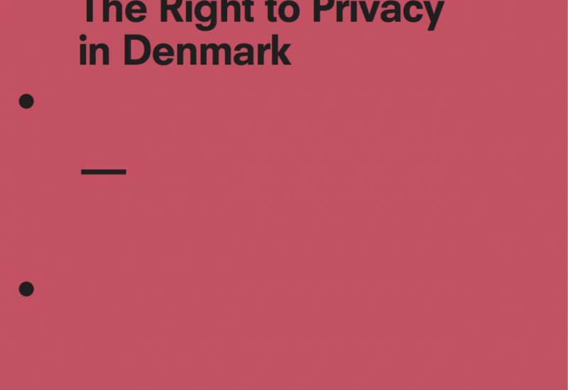 The Right to Privacy in Denmark