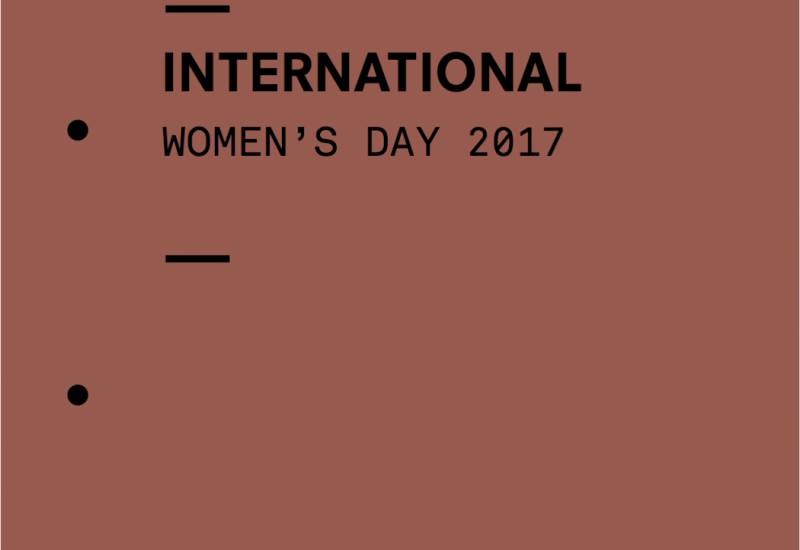 International Women's Day report cover