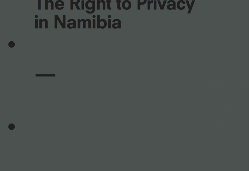 The Right to Privacy in Namibia
