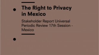 The Right to Privacy in Mexico