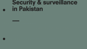 Tipping the scales: Security and Surveillance in Pakistan