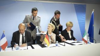 Signing of a letter of intent for the development of a European SIDM drone
