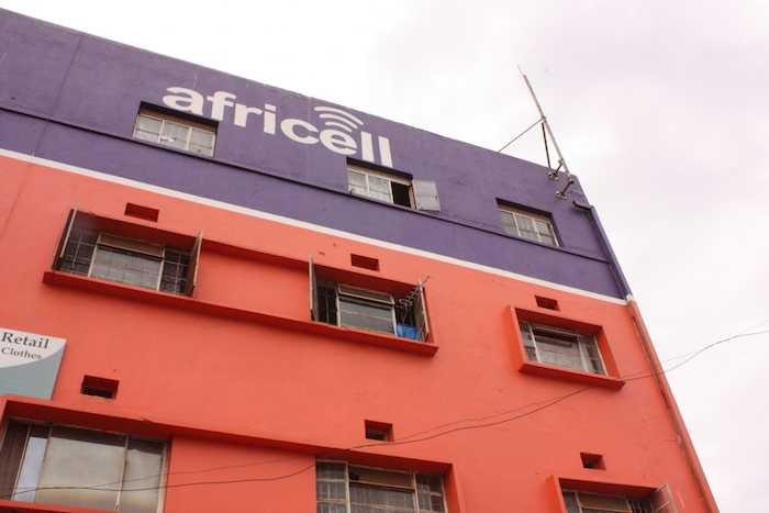 Building with Africel Logo