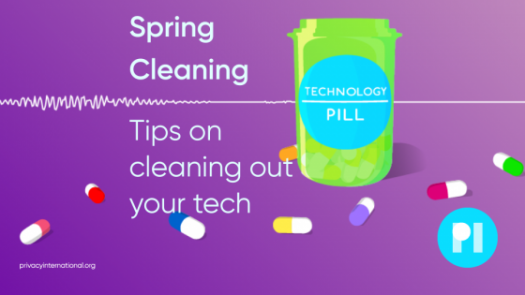 Spring Cleaning - tips on cleaning out your tech