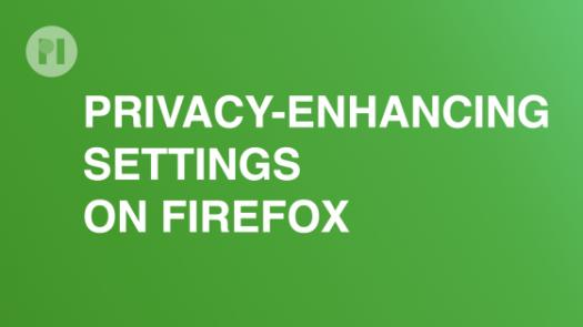 Settings Firefox