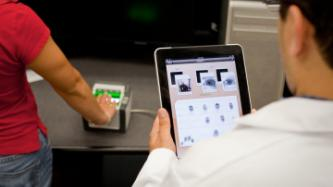 biometric fingerprint reader and tablet