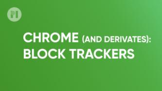 Chrome block trackers privacy badger
