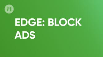 Edge block ads uBlock Origin