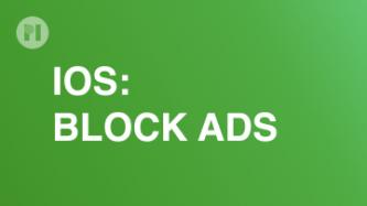 IOS Block Ads